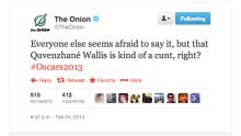 OnionCallsQuvenzhaneWallisCuntTwitter