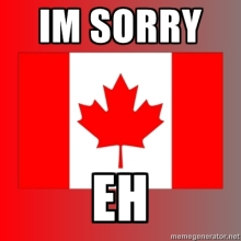 sorry-eh