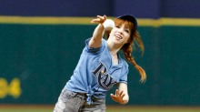 carley ray throw like a girl